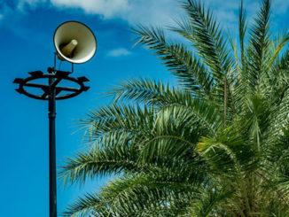 warning siren over hawaii