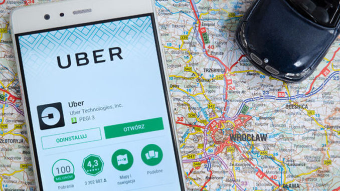 map and uber app