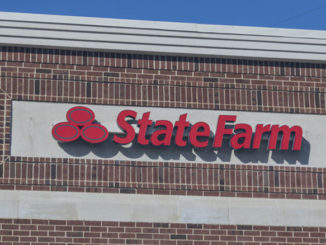 front of state farm insurance building