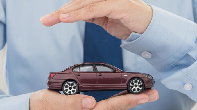 """The Online Illusion of """"Cheap Auto Insurance"""" car graphic"""