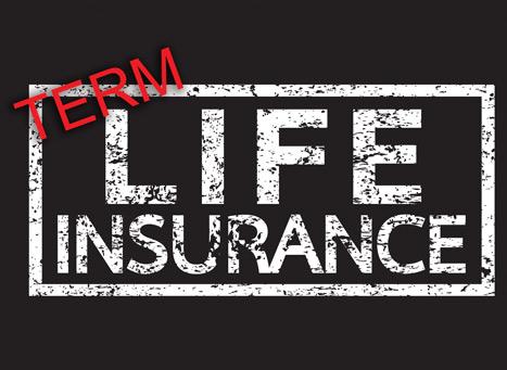 term life insurance graphic